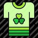 shirt, cloth, clover, flower, celebration