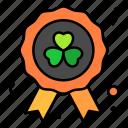 ribbon, clover, festival, lucky, party