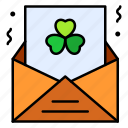 email, letter, message, irish, day, celebration