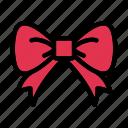 bow, gift, tie, present, patricksday