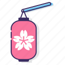 festival, lantern, lantern festival, mooncake festival, paper lantern, sakura festival icon