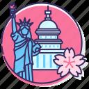 cherry blossom, cherry blossom festival dc, dc, sakura blossom, sakura festival, us, washington icon