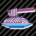 noodles, ramen, spaghetti, yakisoba icon