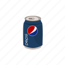 can, drink, pepsi icon
