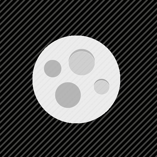 moon, sky, space, stars icon