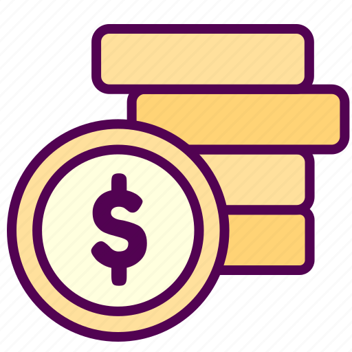 coin, money, online, sales, shop icon
