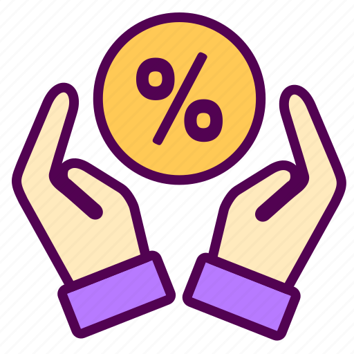 discount, give, online, sales, shop icon