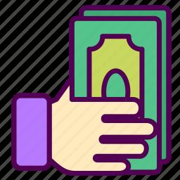 money, online, sales, shop icon