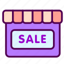 online, sale, sales, shop icon