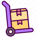online, sales, shop, trolley icon