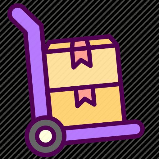 online, sales, shop, trolley icon