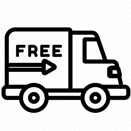 commerce, delivery, free, online, sales, store icon