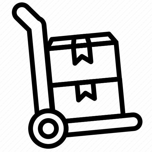 commerce, online, sales, store, trolley icon