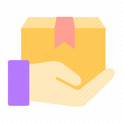 box, delivery, online, package, pick, sales, shop icon