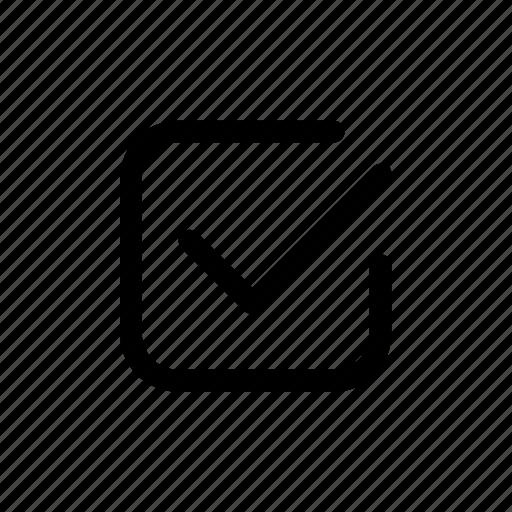 accept, confirmation, ok, tick icon