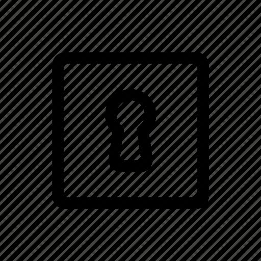 key, lock, safe, security icon