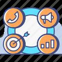 crm, customer, profile icon