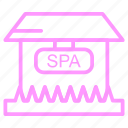 beauty, salon, shop icon