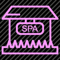 beauty, salon, shop icon
