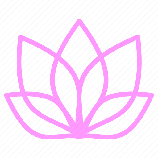 beauty, bloom, flower, plant icon