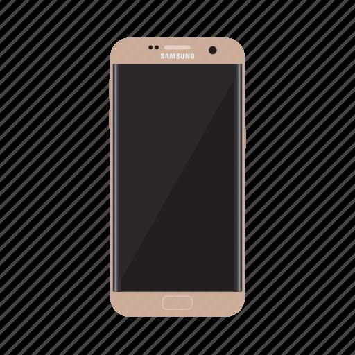 edge, phone, s7 edge, samsung, samsung galaxy, samsung icon, smartphone icon