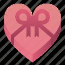 chocolates, day, heart, love, present, valentines icon