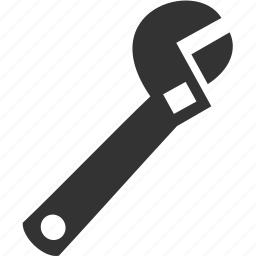 setting, spanner, tool, wrench icon