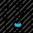 smoking, hookah, tobacco, smoke icon
