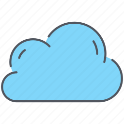climate, cloud, cloudy, forecast, overcast, storage, weather icon