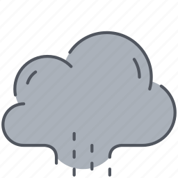 autumn, climate, cloud, forecast, rain, rainy, weather icon