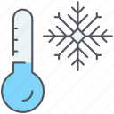 climate, cold, forecast, freezing, temperature, weather, winter icon