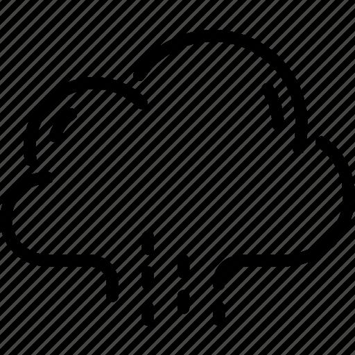 autumn, cloud, pouring, rain, rainy, weather icon
