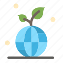 earth, green, planet, save, world icon