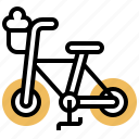bicycle, bike, ride, travel, vehicle icon