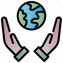 save, world, ecology, hand, nature, environment, earth