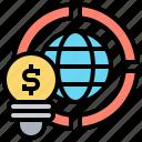 economic, financial, fundamentals, investing, knowledge icon