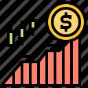 exchange, growth, market, stock, trade
