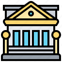 government, building, capital, institute, bank icon