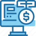 banking, business, computer, growth, investment, money icon