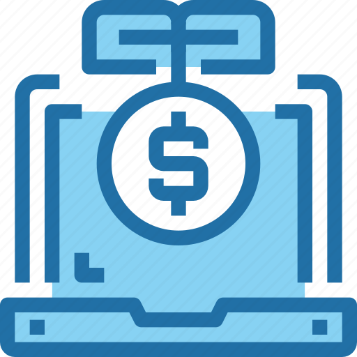 Banking, computer, growth, investment, money icon - Download on Iconfinder
