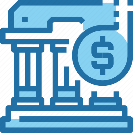 banking, building, business, investment, money, saving icon