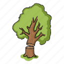 lumber, nature, plant, tree icon