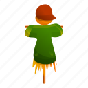 food, person, man, scarecrow, woman, green