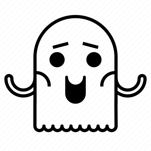 character, ghost, halloween, monster, scary icon