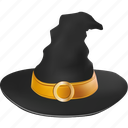 cap, clothing, evil, halloween, hat, holiday, magic, magician, scary, sorcery, spooky, wear, witch, witchcraft, wizard icon