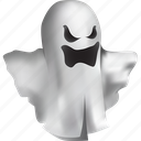 costume, creature, dead, death, emoticon, emotions, evil, fantasy, fear, frighten, funny, ghost, halloween, horror, humor, magic, monster, mystery, poltergeist, scare, scary, spirit, spooky, ugly, white icon