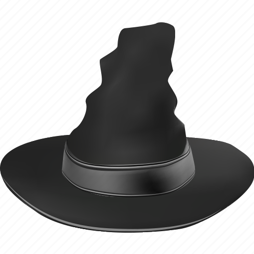 cap, clothing, evil, fabric, halloween, hat, magic, magician, scary, sorcery, spooky, wear, witch, witchcraft, wizard icon