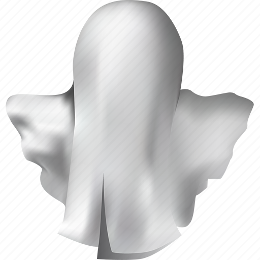 blank, costume, creature, fantasy, fear, ghost, halloween, horror, magic, monster, mystery, poltergeist, spirit, spooky, white icon