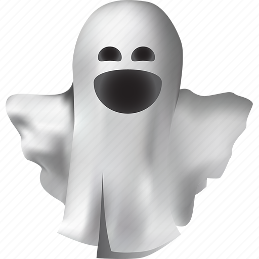 costume, creature, dead, death, emoticon, emotions, fantasy, funny, ghost, halloween, humor, laughing, magic, monster, mystery, poltergeist, positive, smiling, spirit, spooky, white icon