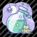 magic, alchemy, halloween, potion icon